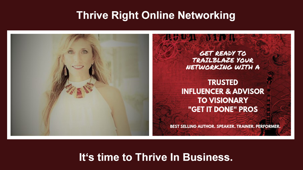 Thrive Right Online Networking