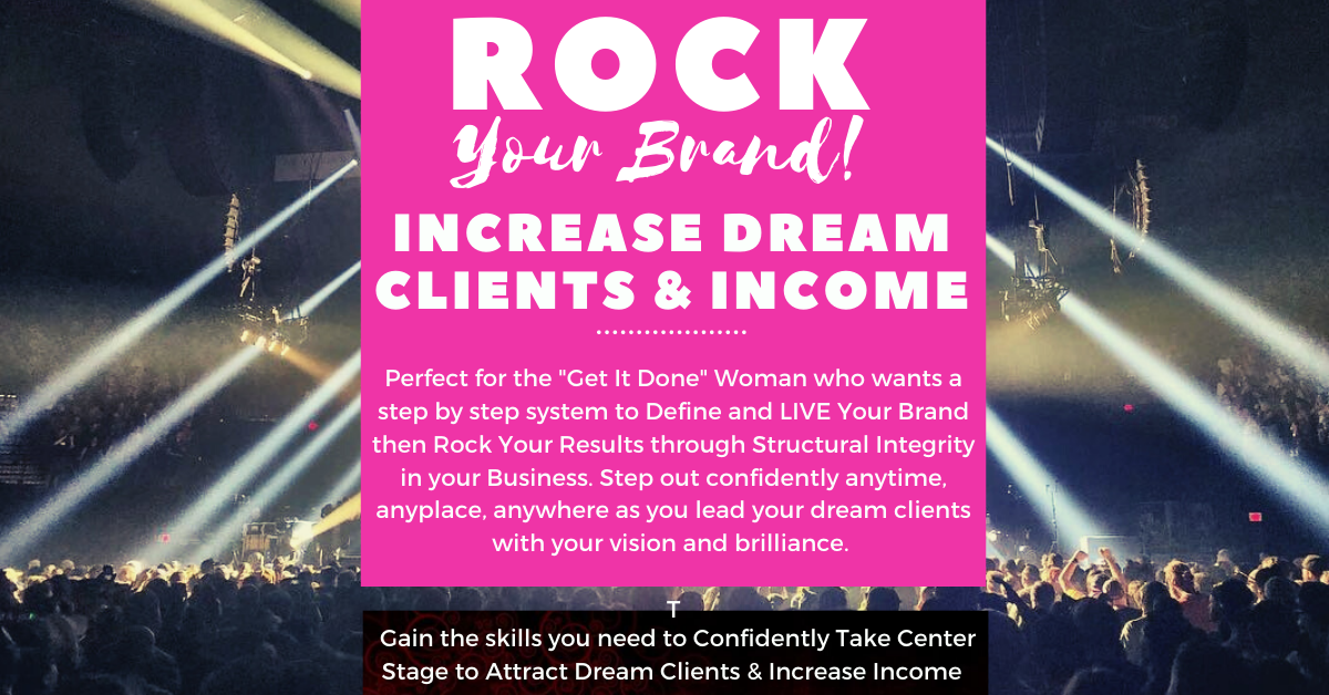 Rock Your Brand! Women's 12 Mo. Business Development & Leadership  Training Program