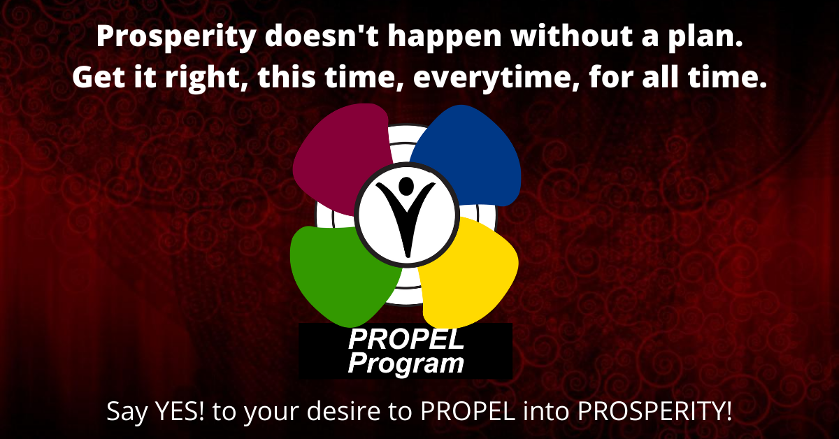 Is your propeller piloting your prosperity, or just spinning?