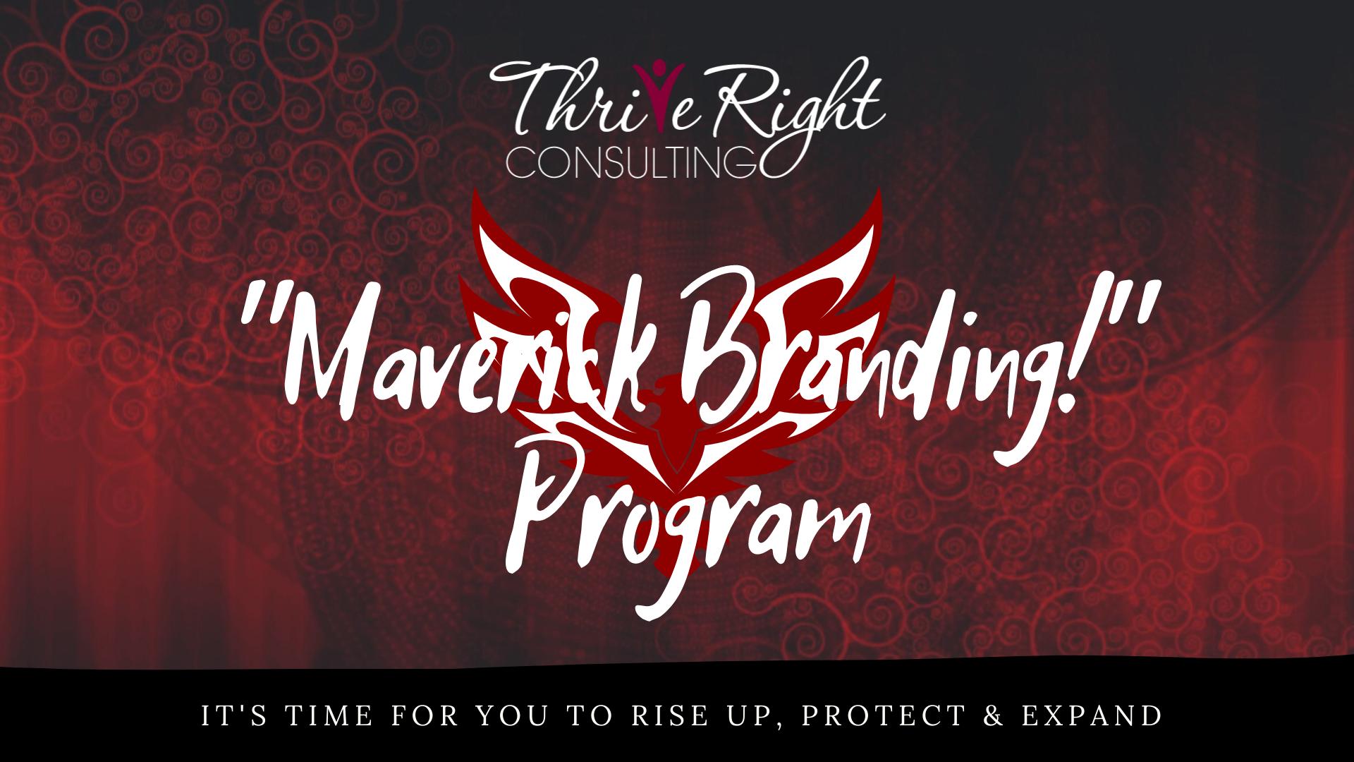Maverick Branding! Men's 6 Week Leadership Branding Development Program