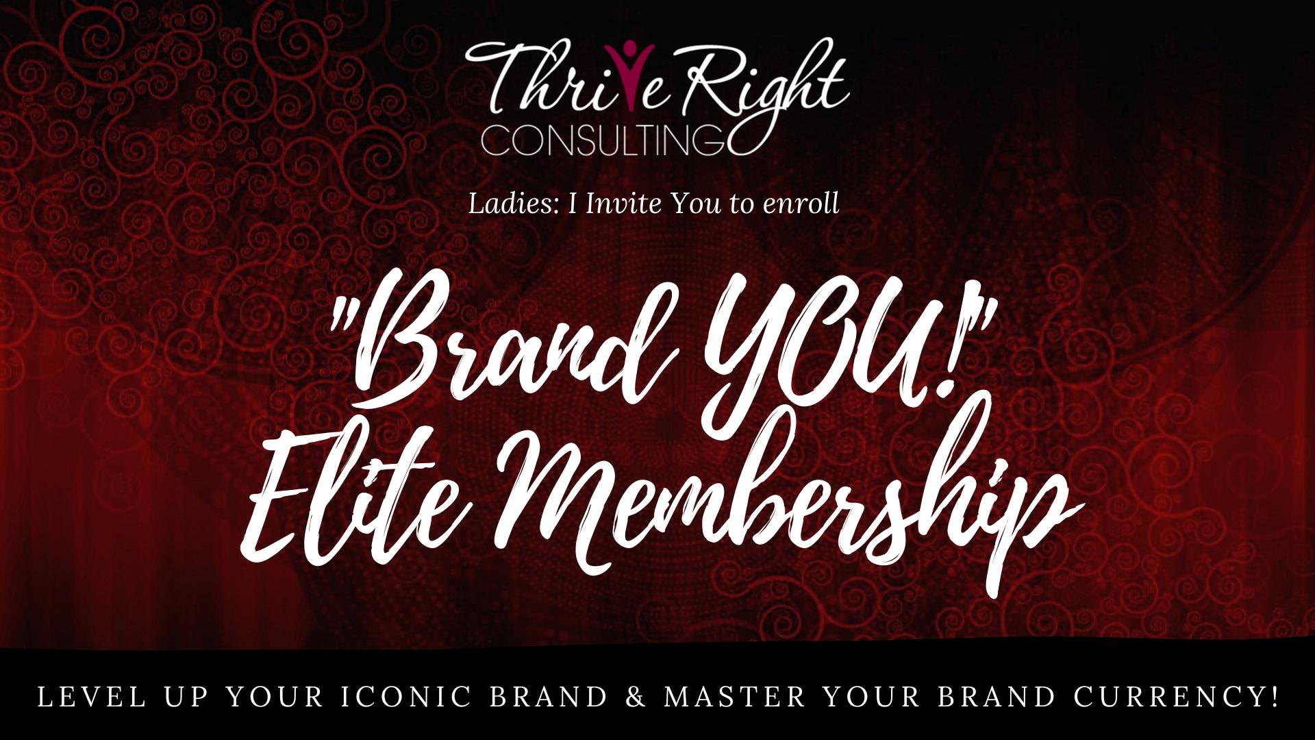 BRAND YOU! ELITE Membership